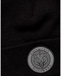Billabong - Disaster Bode Logo Beanie In Black for Men - Lyst