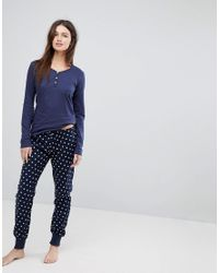Esprit | Blue Stars Pyjama Set | Lyst
