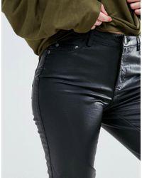 Blend She - Black Mia Coated Jean - Lyst