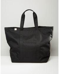 Herschel Supply Co. - Black Bamfield Oversized Tote Bag 59l - Lyst