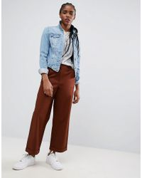 ASOS - Red Loose Fit Chino Pants In Rust - Lyst