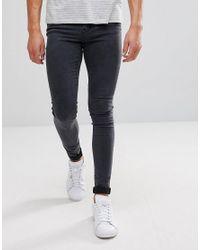 a7c70138c46 Dr. Denim Leroy Super Skinny Gray Lush Skinny Jean in Gray for Men ...