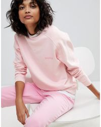 2nd Day - Pink Shine Logo Sweatshirt - Lyst