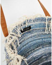 New Look | Denim Shopper - Blue Pattern | Lyst