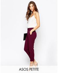 ASOS | Black Pant With High Waist | Lyst