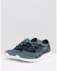 Asics - Gel-kayano Knit Trainers In Blue Hn706 6790 for Men - Lyst