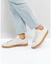 76a8248c860 Nike Blazer Low Trainers In Beige Suede With Gum Sole in Natural - Lyst
