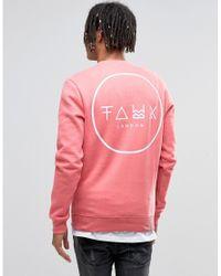 Friend or Faux - Sweatshirt - Pink for Men - Lyst