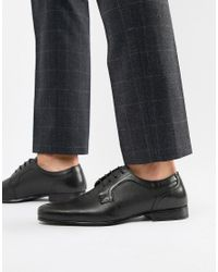 Red Tape - Harston Lace Up Shoes In Black for Men - Lyst