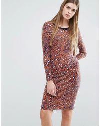 Baum und Pferdgarten | Multicolor Elana Bodycon Dress In Leopard Print | Lyst