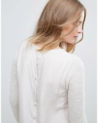 French Connection - Natural Koko Knit Sweater - Lyst