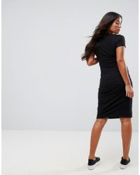 New Look - Black Nursing Dress - Lyst