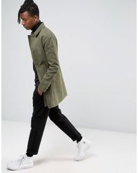 Only & Sons | Green Mac In Heavy Cotton Twill for Men | Lyst