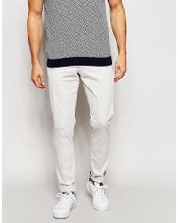 Reiss | Multicolor Chinos In Slim Fit for Men | Lyst
