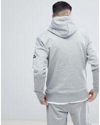 Penfield - Westridge Logo Hoodie In Gray Marl for Men - Lyst