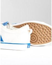 Adidas Originals - Adidas Originals Nizza Lo Sneakers In White Bz0489 - Lyst