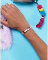 ASOS - Multicolor Hola Friendship Bracelet - Lyst