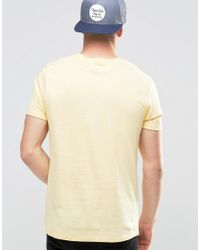 ASOS - 2 Pack T-shirt With Crew Neck In Light Green/light Yellow Save for Men - Lyst