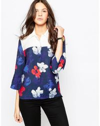 WOOD WOOD - Blue Christa Shirt - Lyst