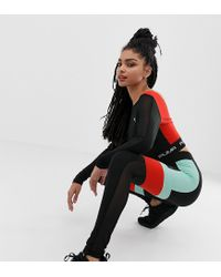 470c0efcafe3 PUMA Exclusive To Asos Block High-waisted leggings in Black - Lyst