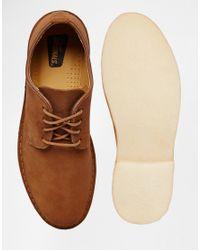 Clarks   Brown Desert London Shoes for Men   Lyst