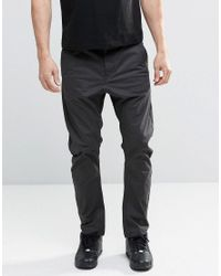 G-Star RAW | Black Bronson Tapered Chinos for Men | Lyst