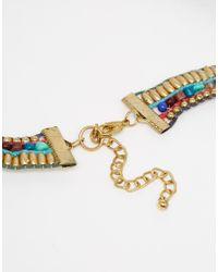 ASOS - Multicolor Carnival Tassel Necklace - Multi - Lyst
