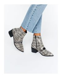 ASOS | Multicolor Rasqual Pointed Ankle Boots | Lyst