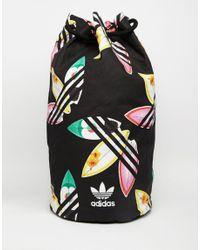 7b29ac0e2b adidas Originals. Women s Black Originals X Pharrell Williams Duffle  Backpack