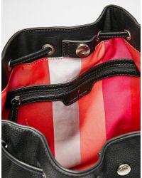 Fiorelli   Black Rossini Drawstring Backpack   Lyst