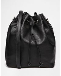 Fiorelli | Black Rossini Drawstring Backpack | Lyst