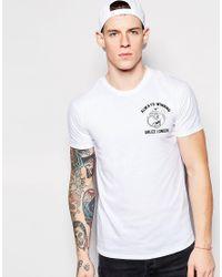 Abuze London - White T-shirt Always Win for Men - Lyst