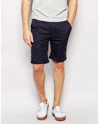 Bellfield - Black Chino Shorts for Men - Lyst