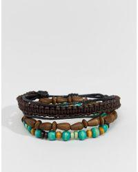 Classics 77 - Multicolor Multi Beaded Bracelet Pack - Multi for Men - Lyst