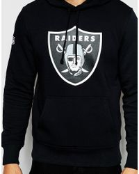 KTZ | Black Oakland Raiders Hoodie for Men | Lyst
