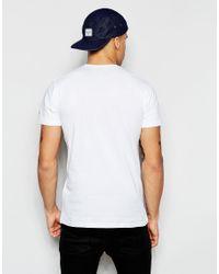 KTZ | White T-shirt With Batter Logo for Men | Lyst