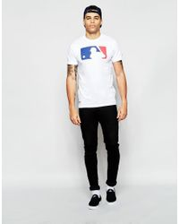 KTZ - White T-shirt With Batter Logo for Men - Lyst