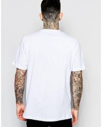 Farah - Logo T-shirt In White - White for Men - Lyst