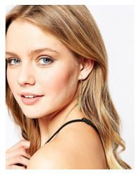 Gorjana - Metallic Honeycomb Tassel Earrings - Lyst