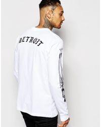 Carhartt WIP - White X Mahogani Music Long Sleeve T-shirt for Men - Lyst