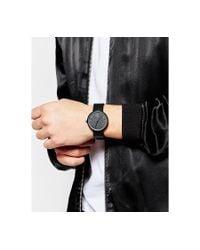 ASOS | Metallic Watch And Cufflink Set In Black for Men | Lyst