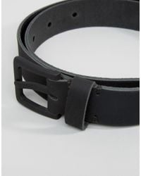 Minimum - Black Skinny Leather Belt for Men - Lyst