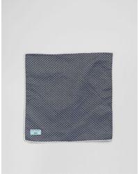 Minimum - Blue Tie And Pocket Square Set In Polka Dot for Men - Lyst