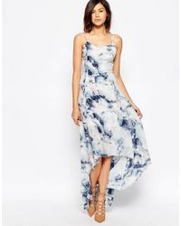 Gestuz Blue Deliah Maxi Dress