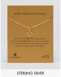 Dogeared - Metallic Dogeraed Gold Plated New Beginnings Reminder Bracelet - Lyst