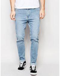 Dr. Denim - Snap Skinny Jeans Light Wash Blue for Men - Lyst