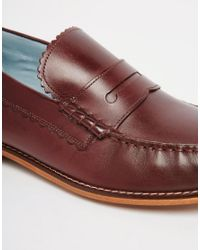 GRENSON - Brown Ashley Penny Loafers for Men - Lyst