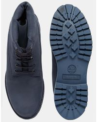 Timberland - Blue Icon 6 Inch Leather Premium Boots - Lyst