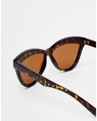 ToyShades - Brown Hooper Tortieshell Cat Eye Sunglasses - Lyst