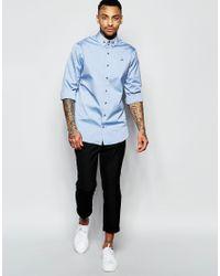 Vivienne Westwood - Blue Oxford Shirt In Regular Fit for Men - Lyst